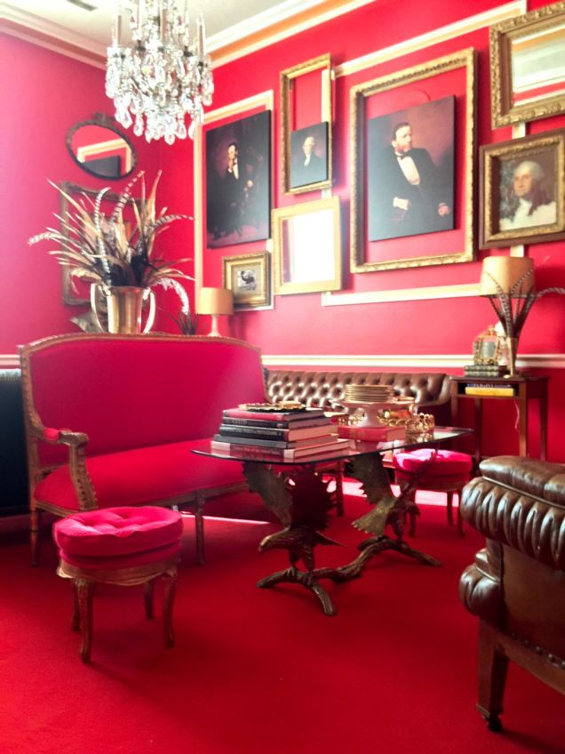Schocking Red: The Office of Politician Aaron Schock