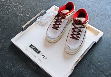 My Air Jordans get laced