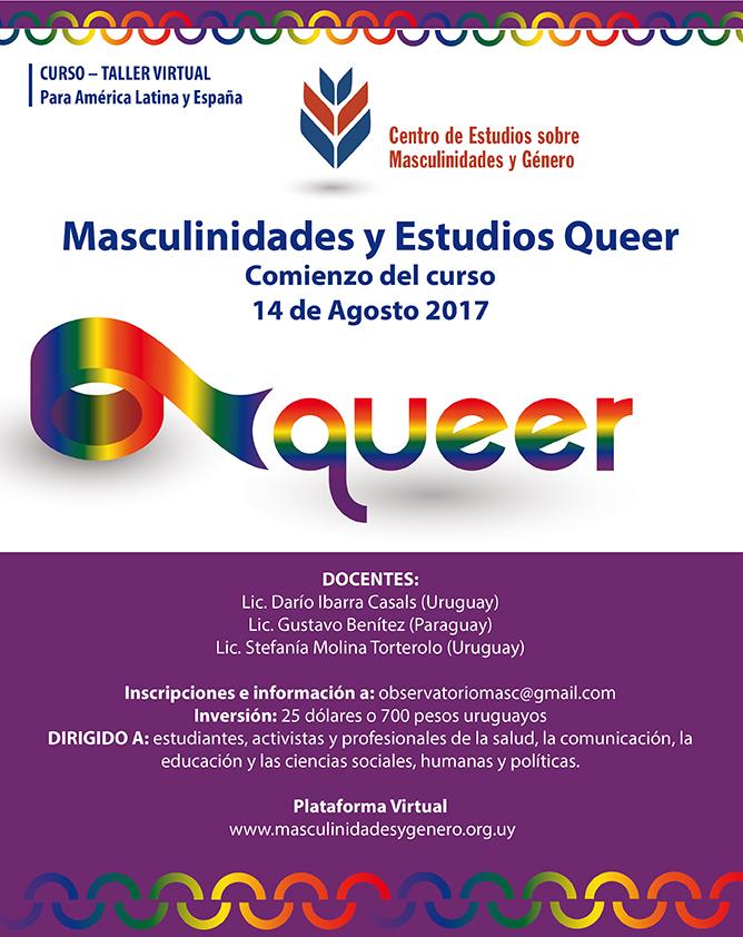 Masculinidades y Estudios Queer