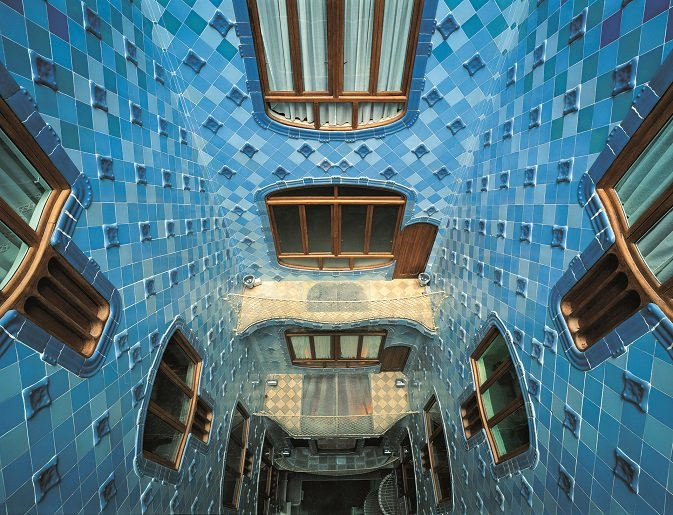 Resultado de imagen de gaudí arcos y bóvedas