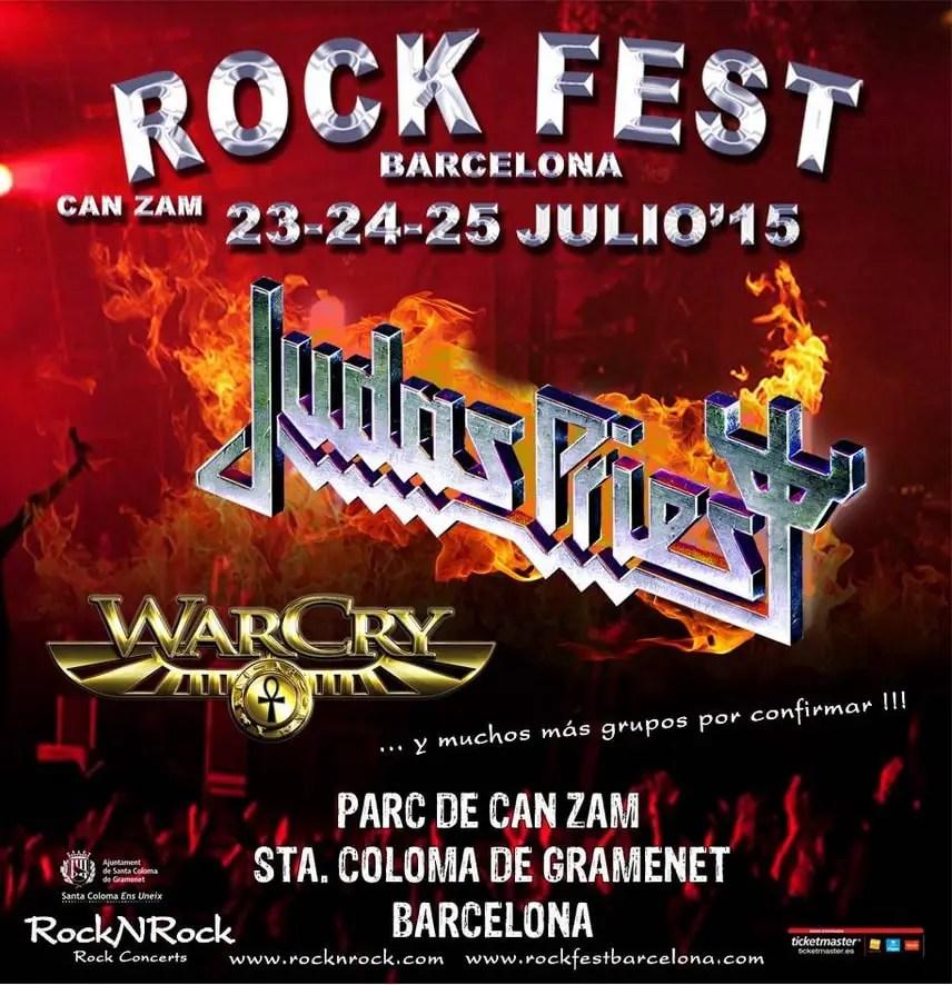 cartel del Rock Fest BCN 2015