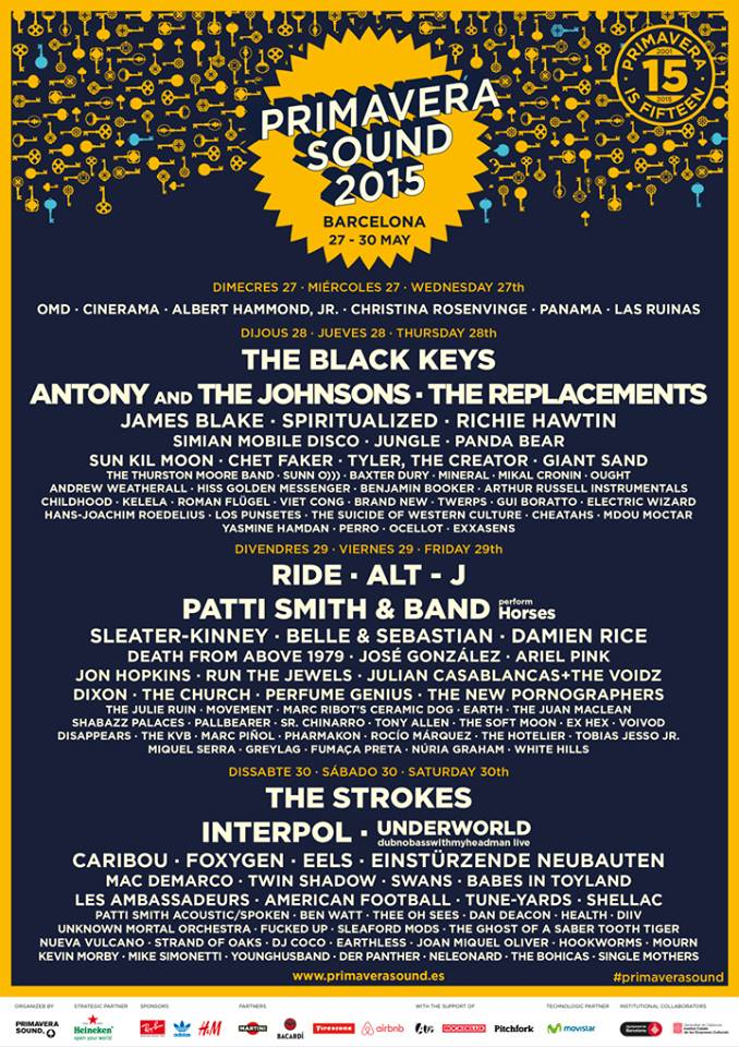 primavera sound 2015 cartel