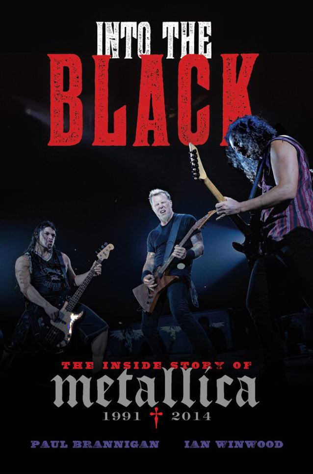 libro metallica into the black