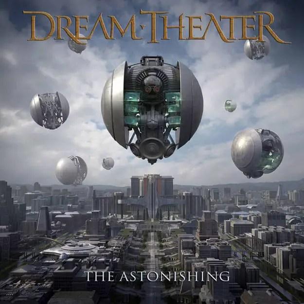Portada nuevo disco de Dream Theater, The Astonishing