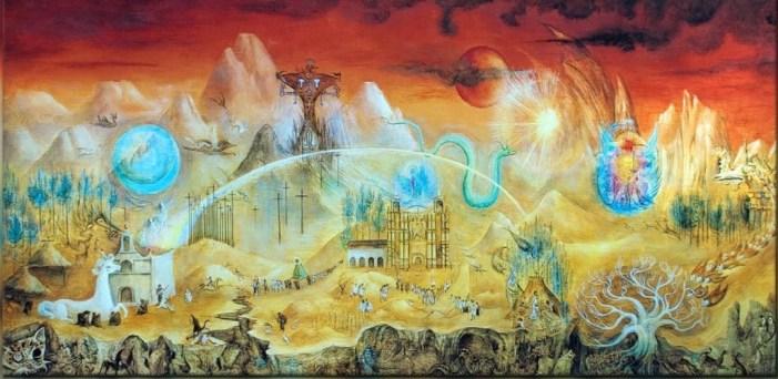 Leonora Carrinton el mundo magico de los mayas