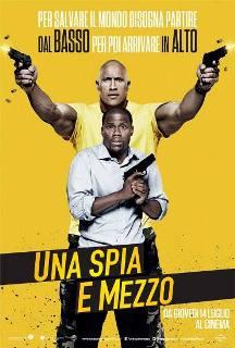 Il poster italiano di Una Spia e Mezzo