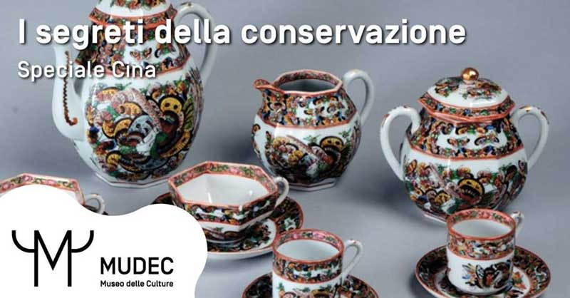 i segreti della conservazione - Speciale Cina. Appuntamento al MUDEC il 29 dicembre
