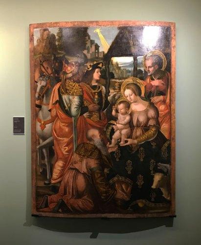 L'adorazione dei Magi, ultima acquisizione della Pinacoteca Züst - Photo: MaSeDomani