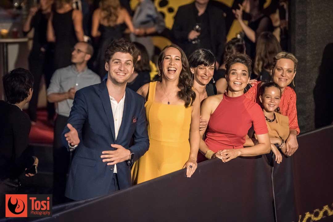 Il cast del film Die Fruchtbaren Jahre in Piazza Grande © Tosi Photography