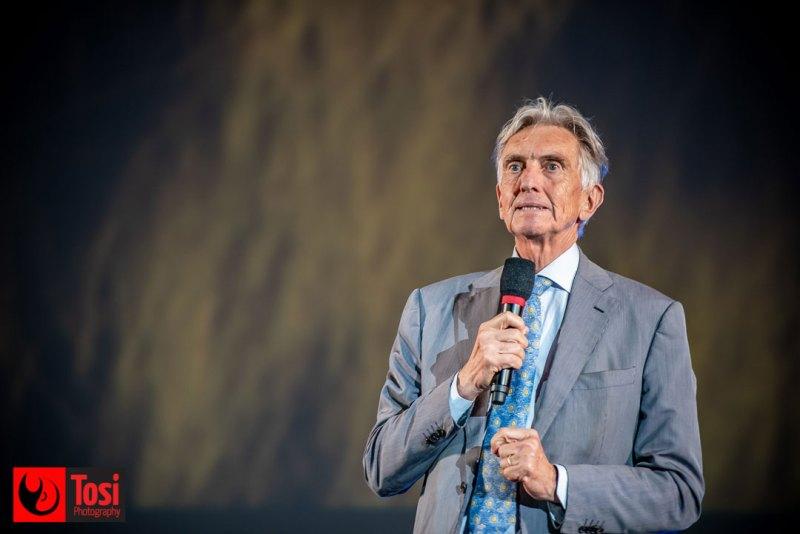 Locarno film festival 2019: il Direttore Marco Solari sul palco di Piazza Grande © Tosi Photography