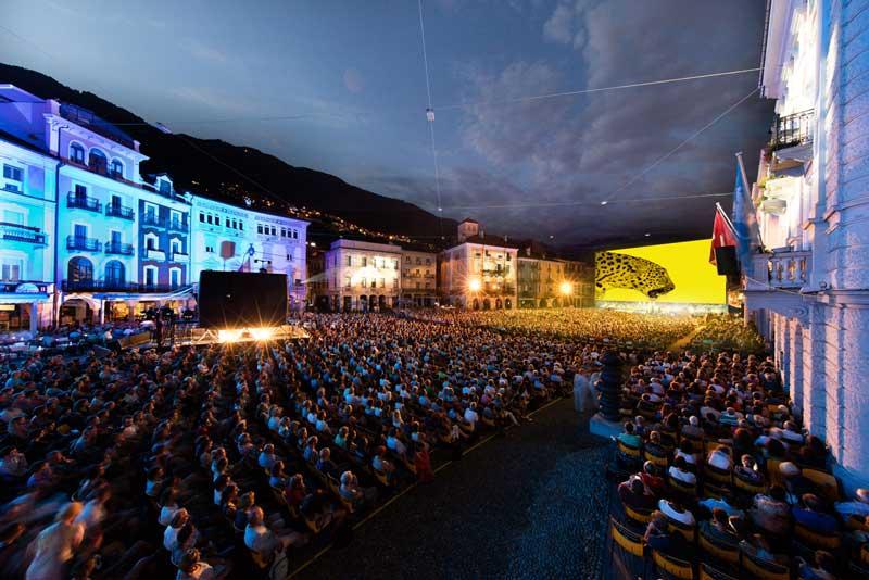 Pronti a scoprire i film da vedere a Locarno 72? Nella foto: Piazza Grande. Courtesy of Locarno Festival