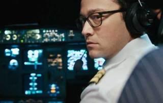 Joseph Gordon-Levitt in una scena del film 7500 - Photo: courtesy of Locarno film festival