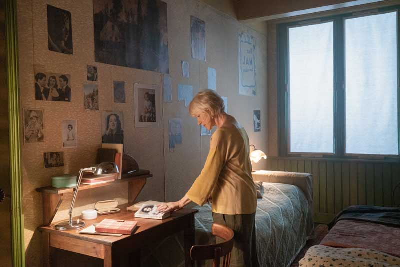 L'attrice Helen Mirren in una scena di #AnneFrank Vite Parallele - Photo: courtesy of Nexo Digital