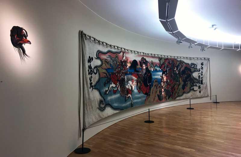 Giappone L'arte nel quotidiano, la sala numero X del Museo Vincenzo Vela - Foto: MaSeDomani