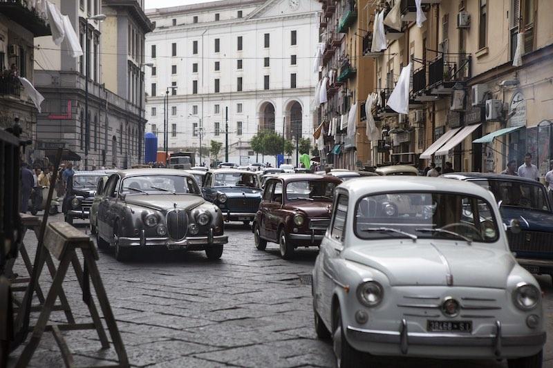 L'amica geniale storia del nuovo cognome set Napoli