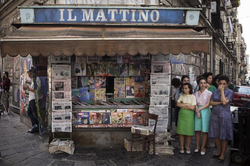 Napoli ne L'Amica Geniale 2. Photo by Eduardo Castaldo.