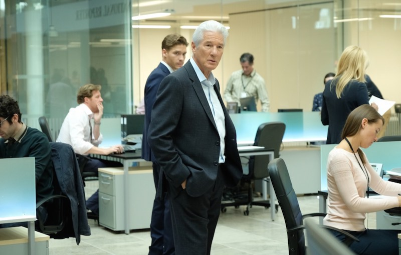 Richard Gere in MotherFatherSon. Photo: courtesy of SKY