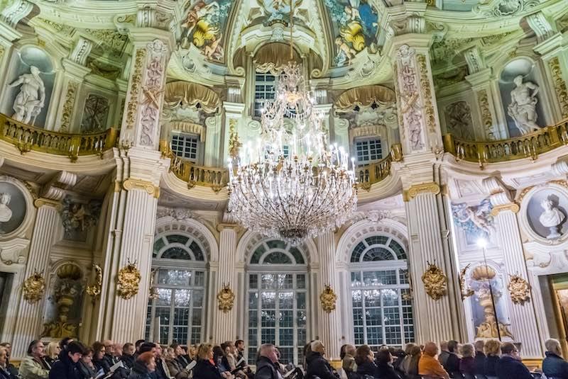 Il Salone d'Onore della Palazzina di Stupinigi. Photo: press office
