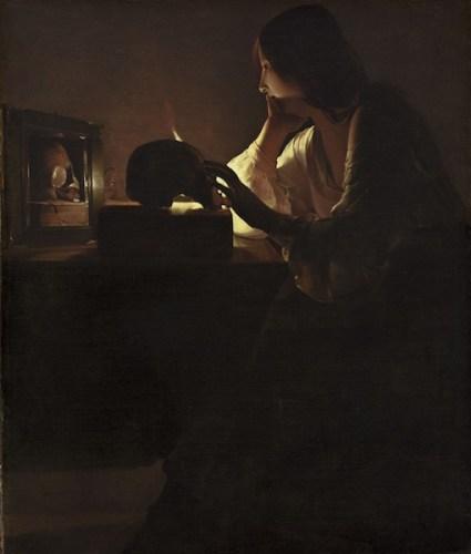 Georges de La Tour Maddalena penitente, National Gallery of Art Washington D.C.
