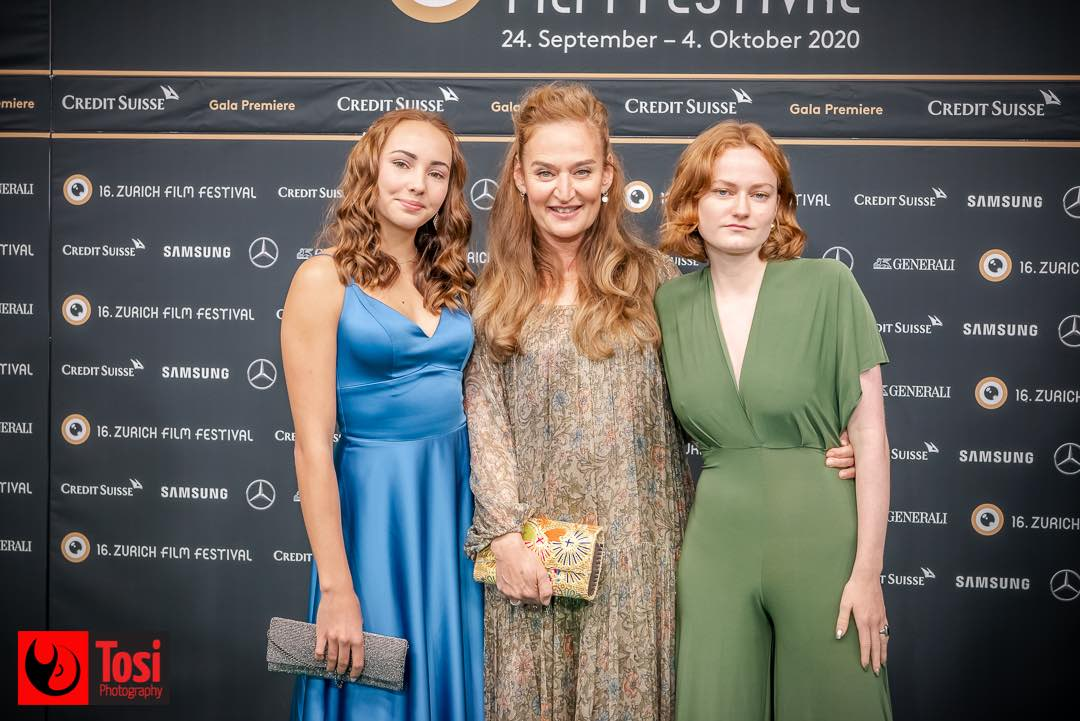 ZFF 2020 - actresses Masha Demiri, Nelli Haechler and Rachel Braunschweig © Tosi Photography