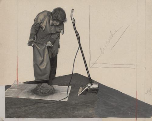 mostra INVENTIONS-Lebart Aspirapolvere rivista Lecture pour tous 1921