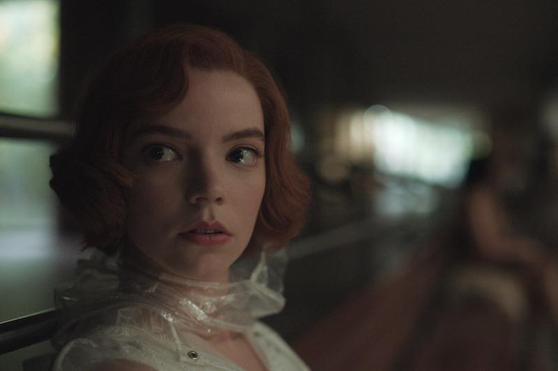 ANYA TAYLOR-JOY è BETH HARMON nella miniserie La Regina degli Scacchi Cr. Courtesy of Netflix © 2020