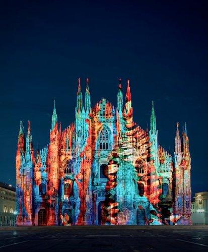 Pensieri illuminati-Duomo Milano-ph press office