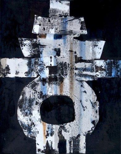 Luigi Pericle, Il segno della trasformazione (Matri Dei d.d.d.), 1964, tecnica mista su tela. Collezione Dr. iur. M. Caroni, Svizzera. Foto © Marco Beck Peccoz.