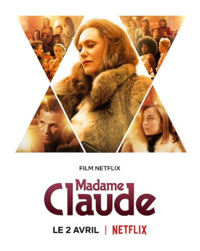 Madame Claude poster film Netflix