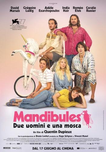 film mandibules poster italiano