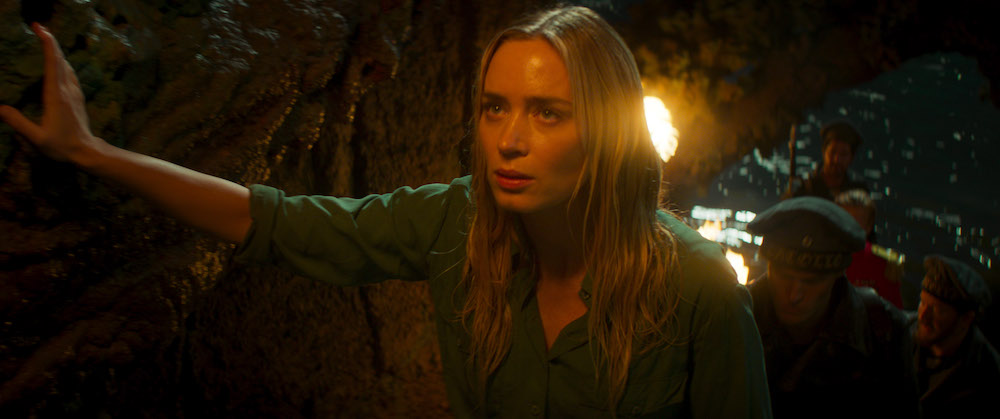 Emily Blunt è Lily Houghton nel film Disney JUNGLE CRUISE. Photo courtesy of Disney. © 2021 Disney Enterprises, Inc. All Rights Reserved.