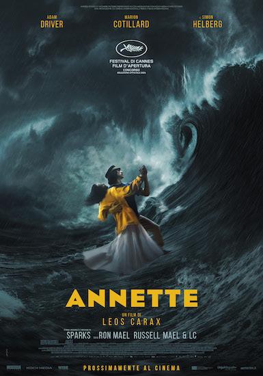 La locandina italiana del film ANNETTE