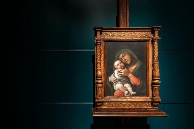 Mercoledì sera al Poldi Pezzoli - A.Mantegna, Madonna con il Bambino, Museo Poldi Pezzoli, Milano.