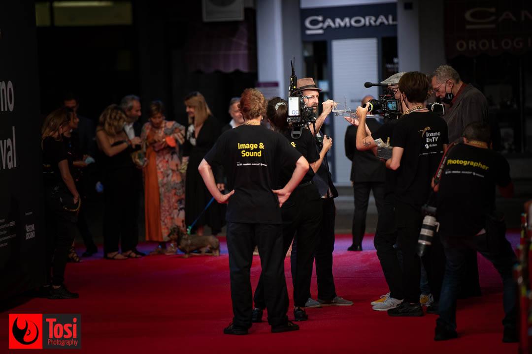 Tosi Photography-Locarno 2021- red carpet film JYAYA e LENNIE-The Walking Liberty-Alessandro Rak-Maria Carolina Terzi-Luciano Stella and team