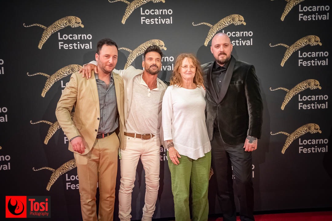 Tosi Photography-Locarno 2021-red carpet ida red-Director John Awab, Actors Frank Grillo,Melissa Leo, Producer Jeremy Rosen
