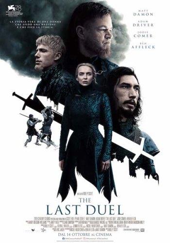 The Last Duel poster ita