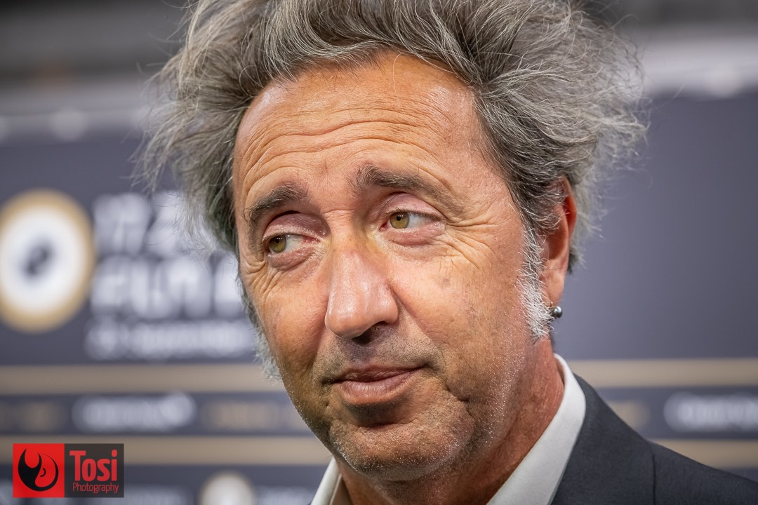 ZFF 2021-Paolo Sorrentino on the green carpet ©Tosi Photography