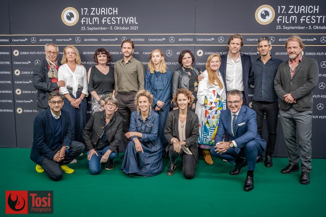 ZFF 2021 - green carpet ZFF Jury © Tosi Photography