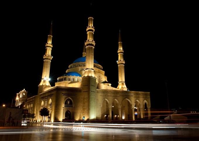 Masjid Muhammad Al Amin yang Berada di Beirut, Lebanon