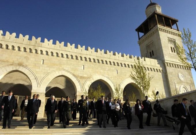 Masjid Raja Hussein Bin Talal yang Berada di Amman, Jordan