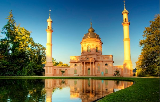 Masjid Schwetzingen yang Berada di Baden-Württemberg, Germany