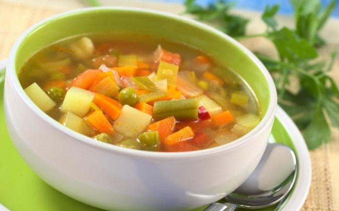 Sop sayuran sehat