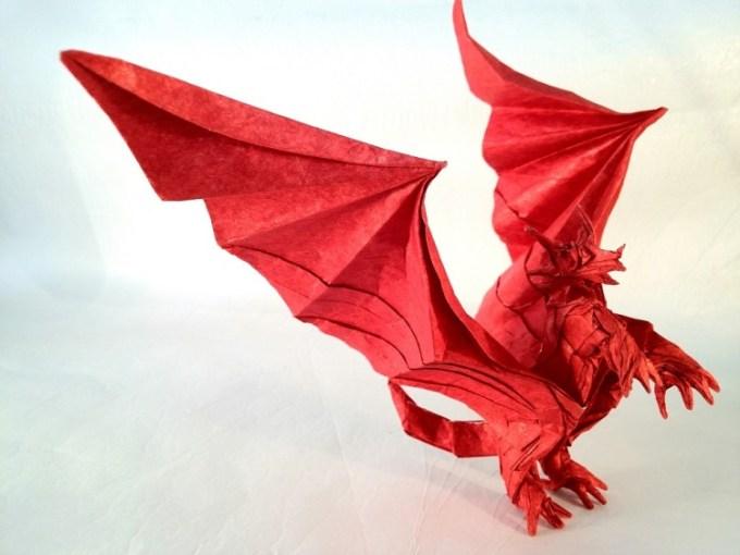 Gambar Origami Naga