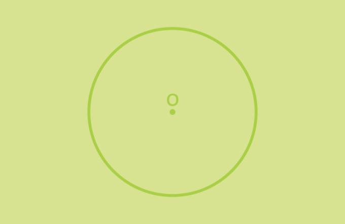 Titik pusat lingkaran