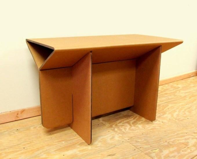 meja dari kardus