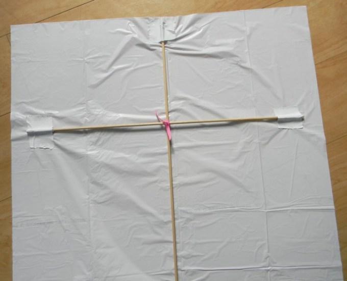 Membuat pola layang-layang