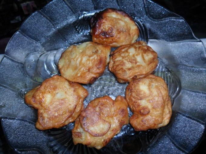 Geguduh Pisang yang menjadi makanan khas Lampung