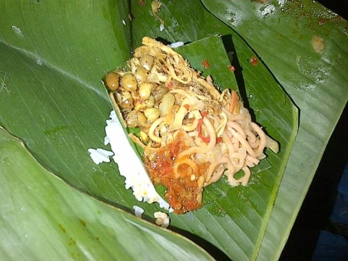 Nasi Jinggo Bali