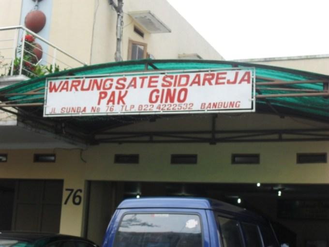 Sate Pak Gino Bandung