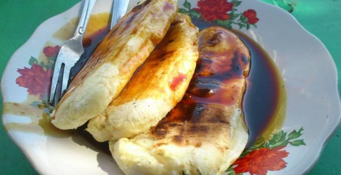 Pisang Epe makanan khas Makassar